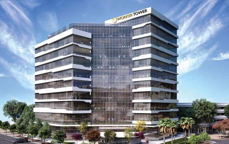 פרויקטים בהקמה: WorkerTower - וורקר טאוור בחולון | רמת הבניין classA | תמונה #7 - 1