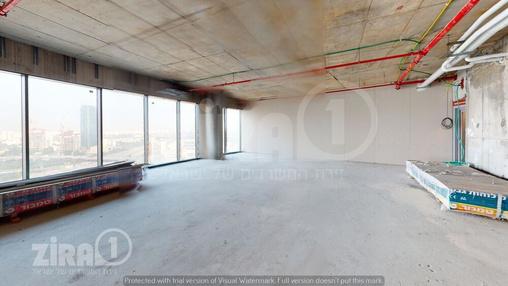 משרד בבניין מגדל ספיר | קומה 18 | שטח 320מ״ר  | תמונה #2 - 1