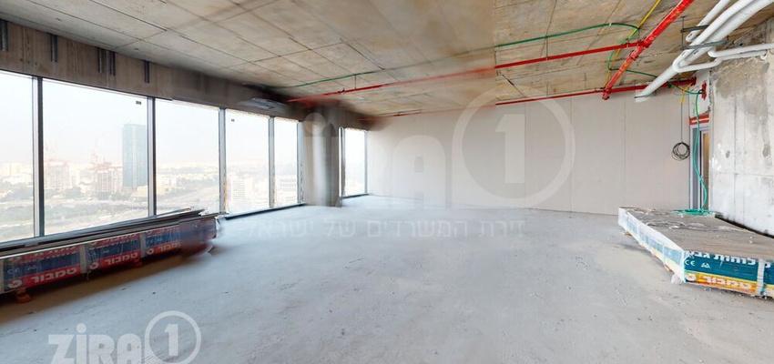 משרד בבניין מגדל ספיר   קומה 18   שטח 320מ״ר    תמונה #0 - 1