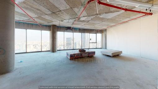 משרד בבניין מגדל ספיר | קומה 37 | שטח 153מ״ר  | תמונה #1 - 1