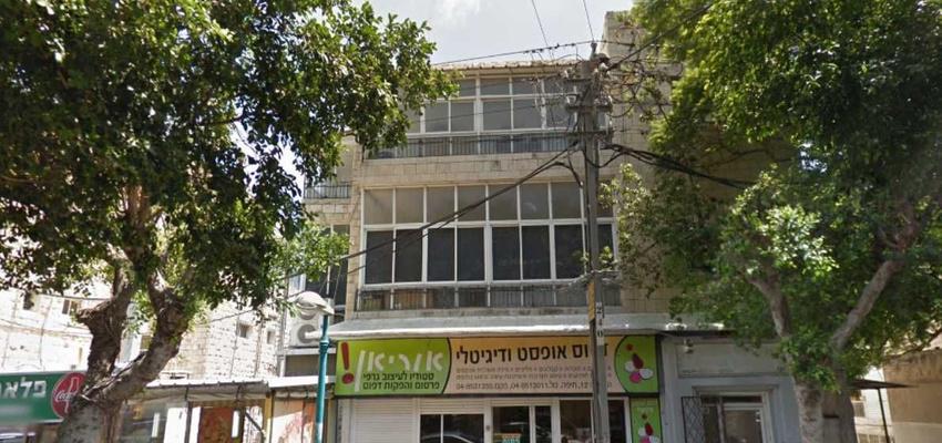 בניין הרצליה 12 בחיפה   רמת הבניין classB   תמונה #0 - 1