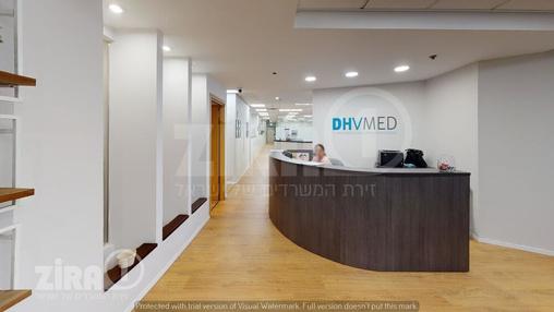 משרד בבניין מרכז אלרוד | קומה 2 | שטח 600מ״ר  | תמונה #9 - 1