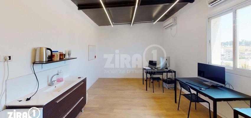 משרד בבניין האומן 22 | קומה 4 | שטח 28מ״ר  | תמונה #0 - 1