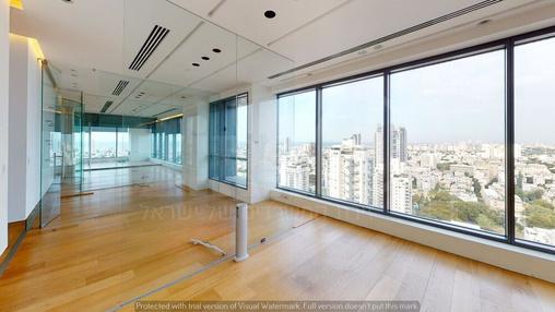 משרד בבניין מגדל המוזיאון | קומה 22 | שטח 380מ״ר  | תמונה #11 - 1