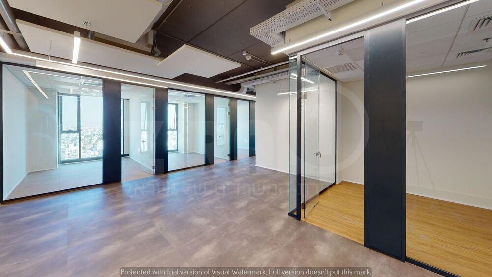 משרד בבניין מגדל השחר | קומה 34 | שטח 170מ״ר  | תמונה #0 - 1
