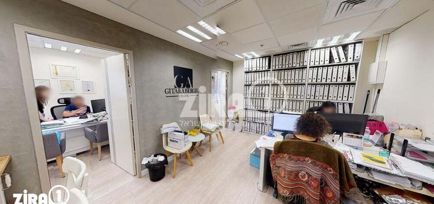 משרד בבניין בניין קורן  | קומה 6 | שטח 75מ״ר  | תמונה #0 - 1