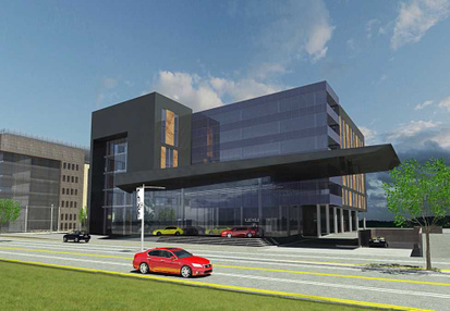 בניין בית לקסוס בפתח תקווה | רמת הבניין classA | תמונה #3 - 1