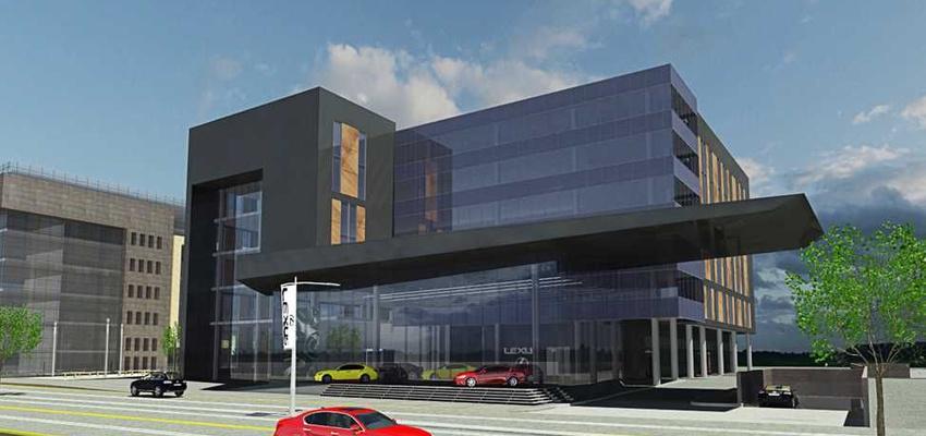 בניין בית לקסוס בפתח תקווה   רמת הבניין classA   תמונה #0 - 1