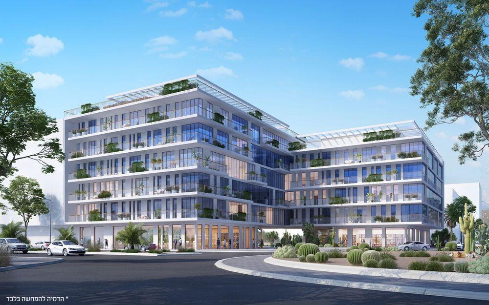 פרויקטים בהקמה Top Valley באר שבע  בבאר שבע | רמת הבניין classA | תמונה #0 - 1