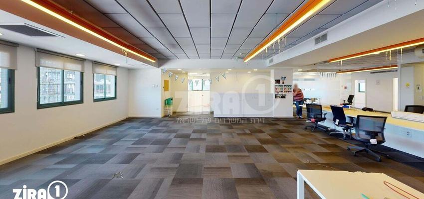משרד בבניין מגשימים 6   קומה 3   שטח 500מ״ר    תמונה #0 - 1