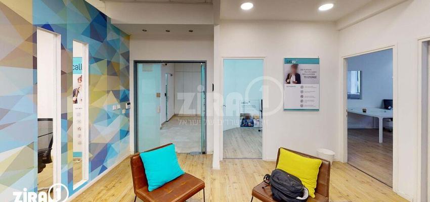 משרד בבניין האומנים 7   קומה 0   שטח 190מ״ר    תמונה #0 - 1