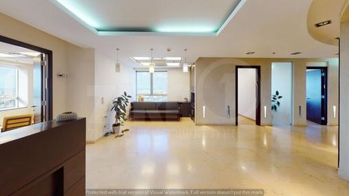 משרד בבניין מגדל משה אביב | קומה 51 | שטח 380מ״ר  | תמונה #0 - 1