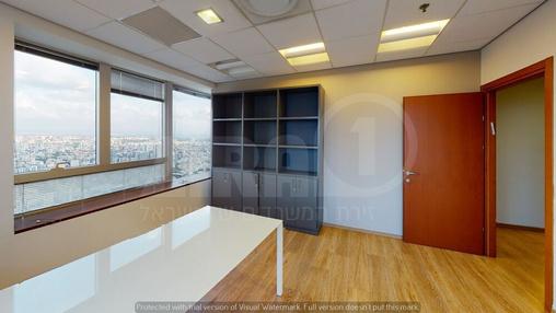 משרד בבניין מגדל משה אביב | קומה 52 | שטח 280מ״ר  | תמונה #15 - 1