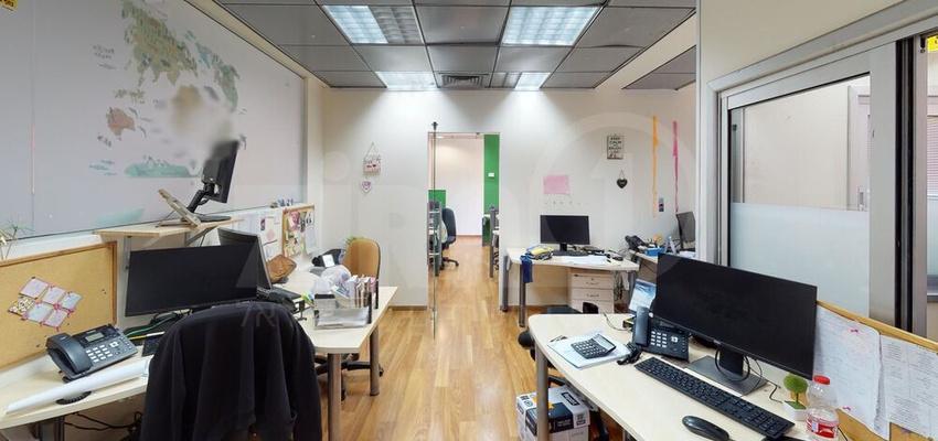 משרד בבניין מנורת המאור 8   קומה 2   שטח 820מ״ר    תמונה #0 - 1