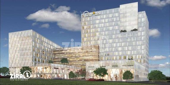 בניין בית אפל גב ים O2 בהרצליה | רמת הבניין classA | תמונה #15 - 1