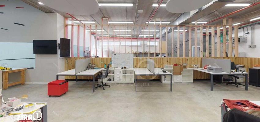 משרד בבניין בית מרק | קומה 0 | שטח 470מ״ר  | תמונה #0 - 1