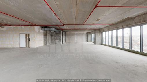 משרד בבניין מגדל הכשרת הישוב  | קומה 11 | שטח 389מ״ר  | תמונה #11 - 1