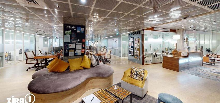 חלל עבודה Urban Place-Shalom Tower בתל אביב יפו | קומה 1 | תמונה #0 - 1