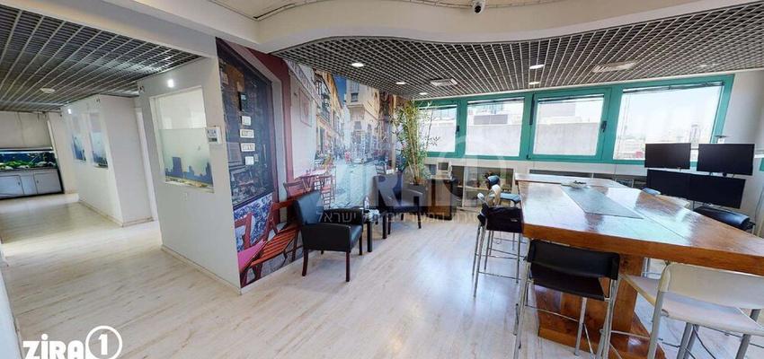 משרד בבניין הסיבים 9   קומה 4   שטח 130מ״ר    תמונה #0 - 1