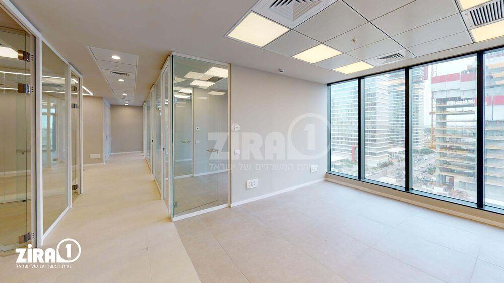 משרד בבניין מגדל הכשרת הישוב  | קומה 6 | שטח 240מ״ר  | תמונה #0 - 1
