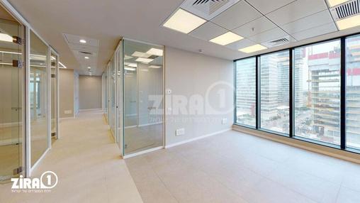 משרד בבניין מגדל הכשרת הישוב  | קומה 6 | שטח 240מ״ר  | תמונה #8 - 1