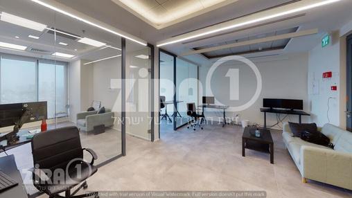 משרד בבניין מגדל הכשרת הישוב  | קומה 9 | שטח 138מ״ר  | תמונה #22 - 1