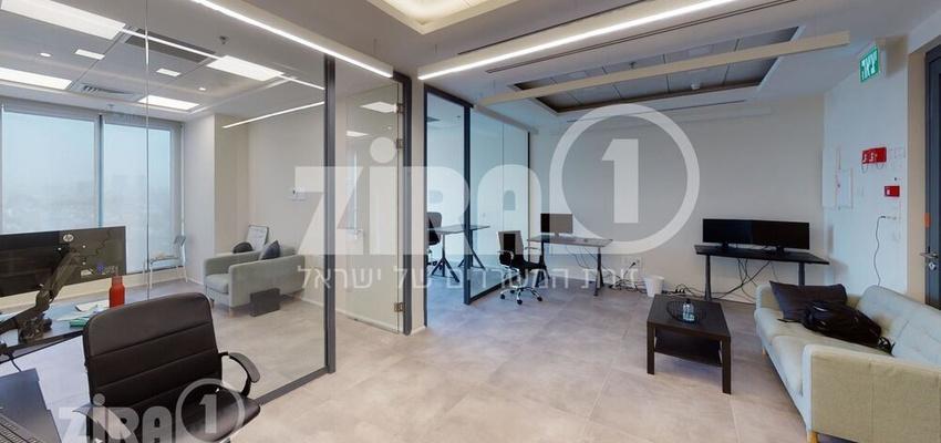 משרד בבניין מגדל הכשרת הישוב  | קומה 9 | שטח 46מ״ר  | תמונה #0 - 1