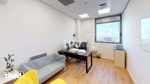 משרד בבניין בית אליהו יצחקי - אגף A | קומה 8 | שטח 1100מ״ר  | תמונה #21 - 1