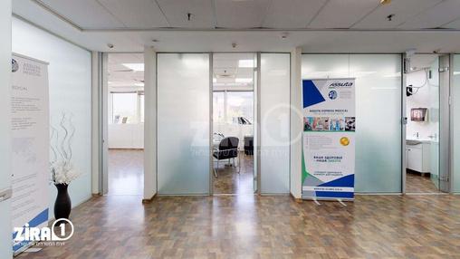 משרד בבניין בית זיויאל- כניסה B  | קומה 4 | שטח 170מ״ר  | תמונה #20 - 1