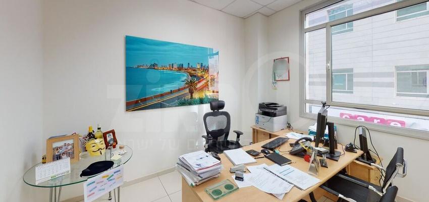 משרד בבניין פארק אולימפיה - בניין C | קומה 1 | שטח 80מ״ר  | תמונה #0 - 1