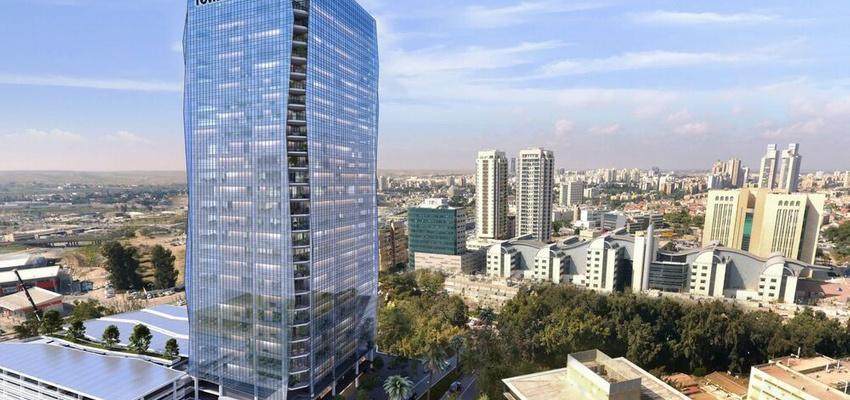 פרויקטים בהקמה M-TOWER בבאר שבע | רמת הבניין classA | תמונה #0 - 1