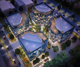 פרויקטים בהקמה קמפוס העסקים פארק המדע- בניין D  בנס ציונה | רמת הבניין classA | תמונה #0 - 1