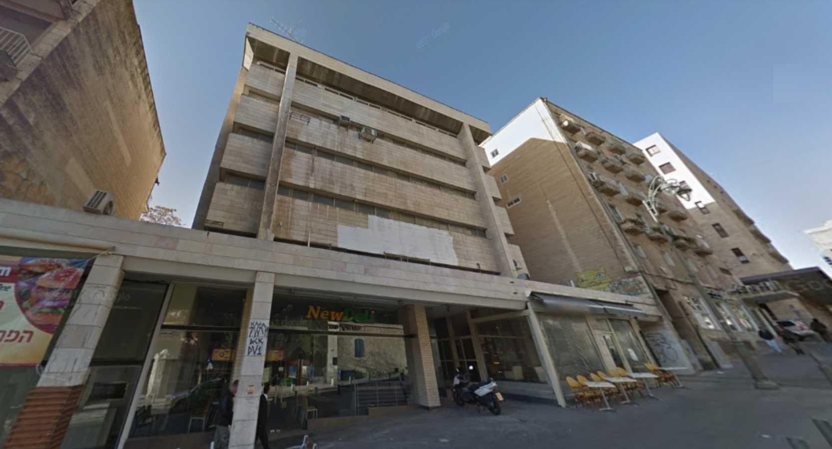 בניין הלל 24 בירושלים   רמת הבניין classC   תמונה #0 - 1