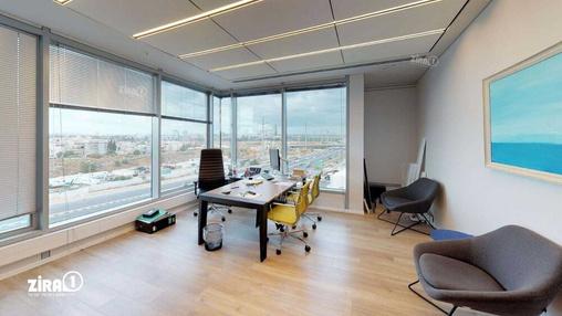 משרד בבניין אמות פלטינום | קומה 4 | שטח 1000מ״ר  | תמונה #3 - 1