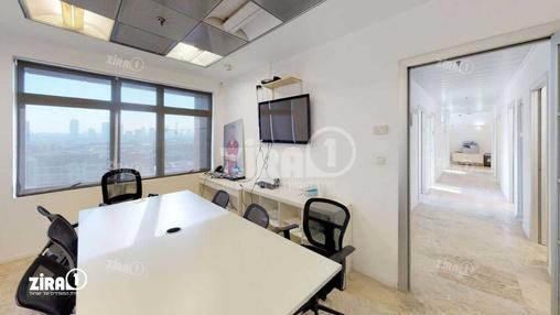 משרד בבניין מגדלי זיו- בניין D | קומה 10 | שטח 300מ״ר  | תמונה #7 - 1