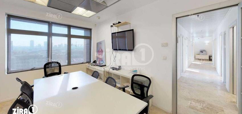 משרד בבניין מגדלי זיו- בניין D   קומה 10   שטח 300מ״ר    תמונה #0 - 1