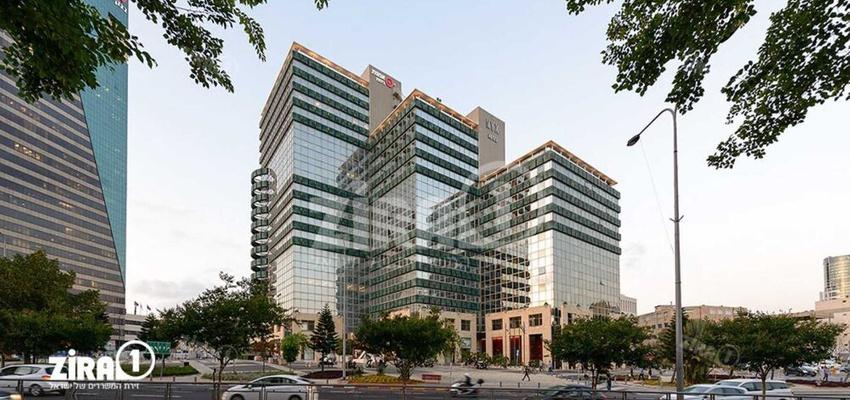 בניין בית אמות ביטוח בתל אביב יפו | רמת הבניין classA | תמונה #0 - 1