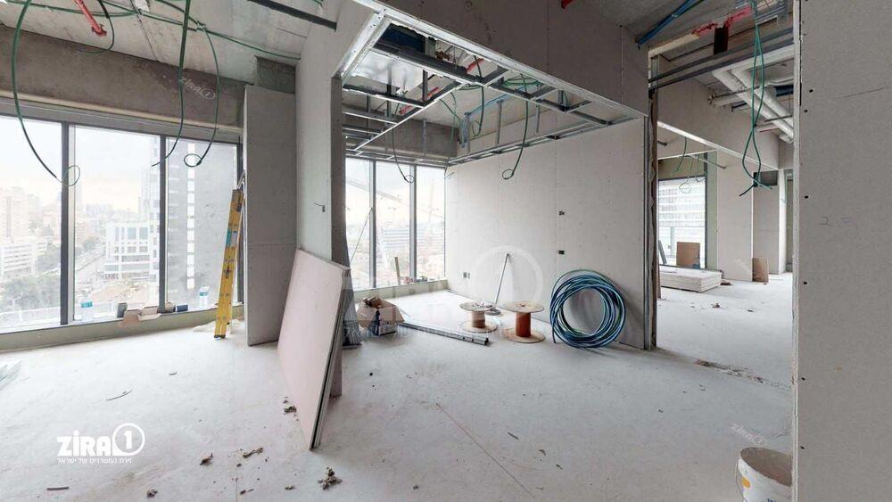 משרד בבניין מגדל הכשרת הישוב  | קומה 9 | שטח 135מ״ר  | תמונה #0 - 1