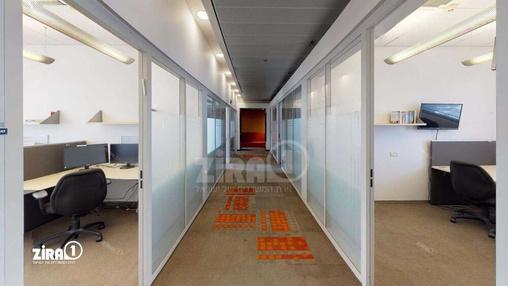 משרד בבניין בית אליהו יצחקי - אגף A | קומה 5 | שטח 550מ״ר  | תמונה #15 - 1