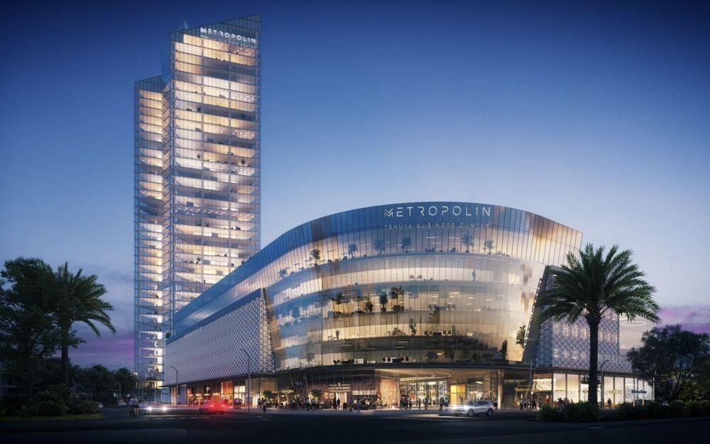 פרויקטים בהקמה Metropolin מרכז עסקים בנתניה | רמת הבניין classA | תמונה #0 - 1
