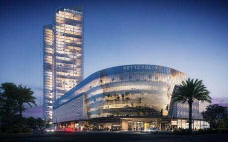 פרויקטים בהקמה Metropolin מרכז עסקים בנתניה | רמת הבניין classA | תמונה #1 - 1