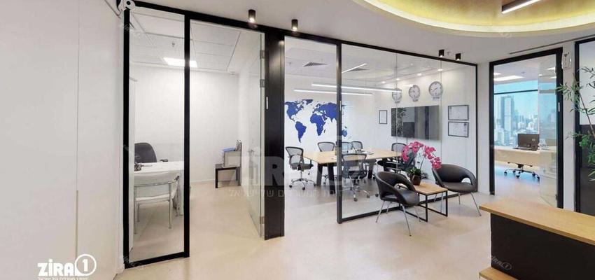 משרד בבניין בסר 4 | קומה 24 | שטח 160מ״ר  | תמונה #0 - 1