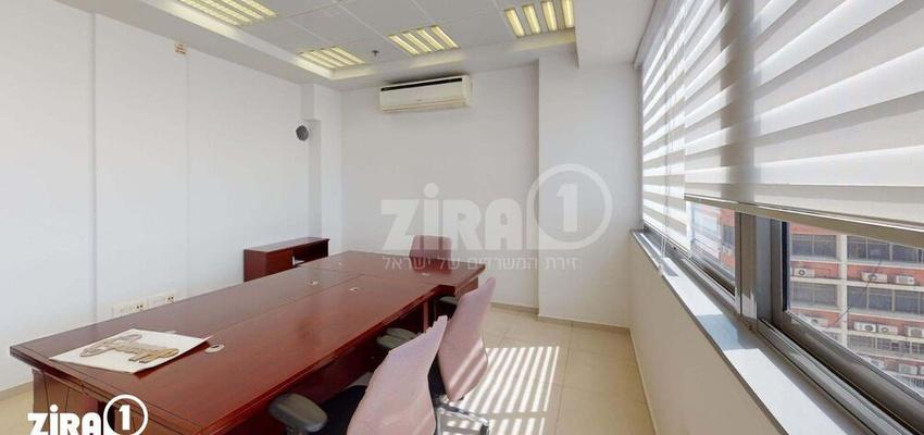 משרד בבניין בניין הסיבים  | קומה 5 | שטח 90מ״ר  | תמונה #0 - 1